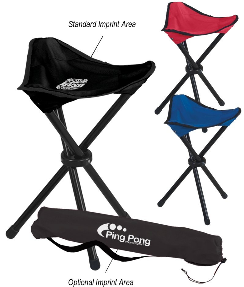 Logo Chairs - Promotional Tri Pod Chair