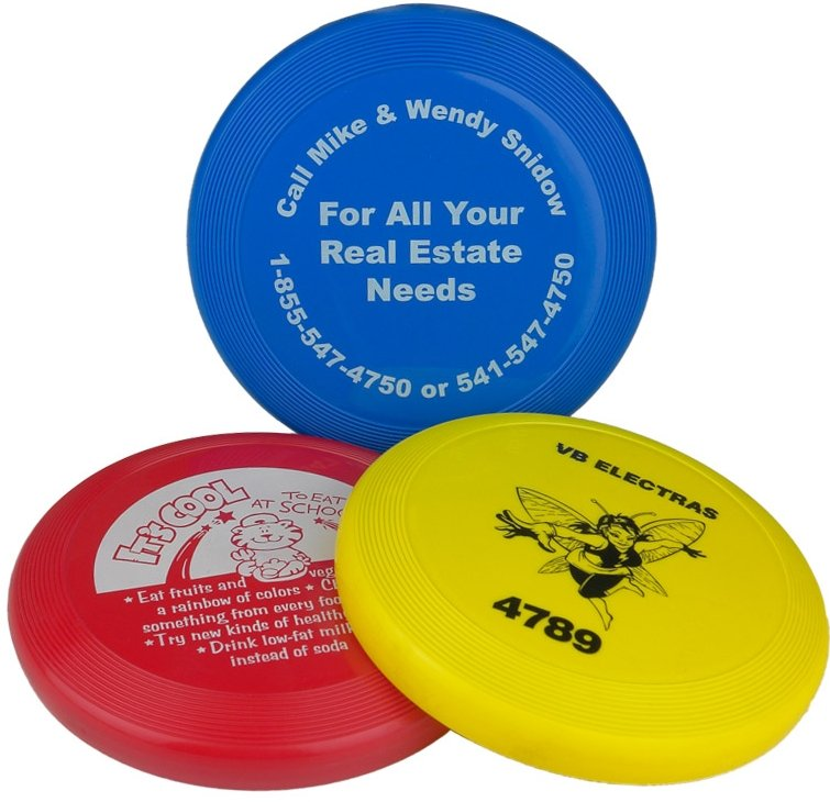 Frisbees - 5 Inch Mini Promotional Frisbee