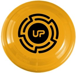 Athletic Gold Promotional Frisbee