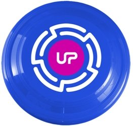 Medium Blue Promotional Frisbee