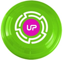 Neon Green Promotional Frisbee