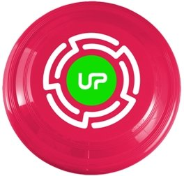 Raspberry Promotional Frisbee