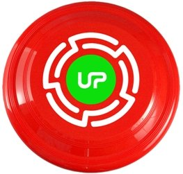 Neon Red Promotional Frisbee
