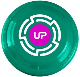 Teal Promotional Frisbee