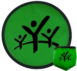 Green Promotional Frisbee