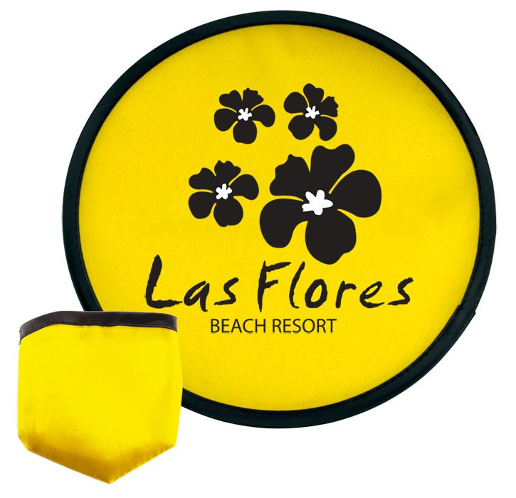 Frisbees - 10 Inch Promotional Frisbee w/ Pouch