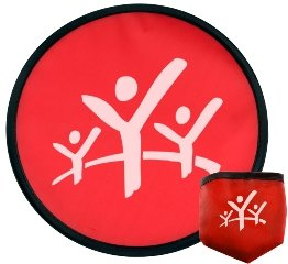Red Promotional Frisbee