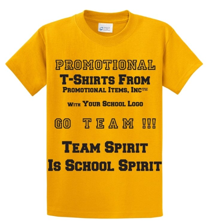 Sports Items-School T-Shirt