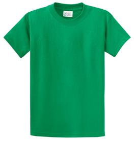 School T Shirt Kelly Green Color Image