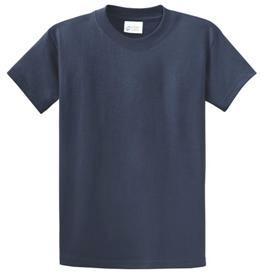 School T Shirt Navy Blue Color Image