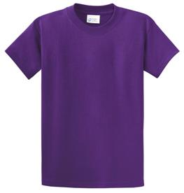 School T Shirt Purple Color Image