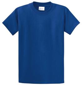 School T Shirt Royal Blue Color Image