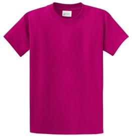 School T Shirt Sangria Color Image