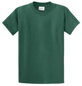 School T Shirt Spruce Green Color Image