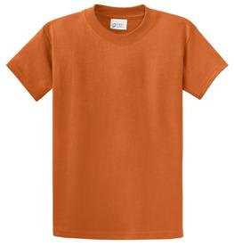 School T Shirt Texas Orange Color Image