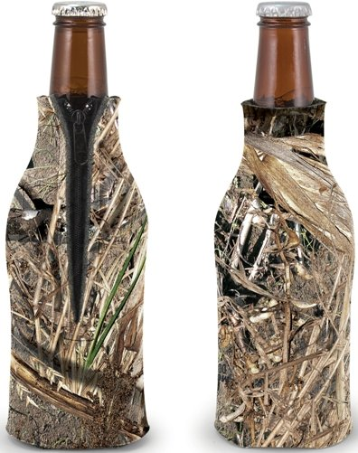 Camo Duck Blind Customized Coozie