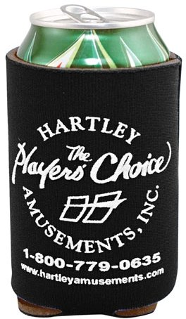 Black Cheap Coozie