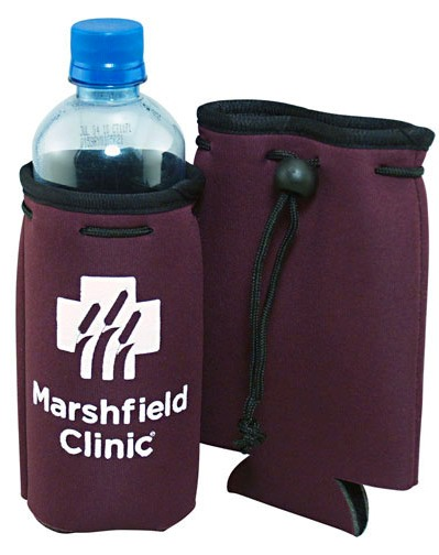Burgundy Cheap Bottle Coozie