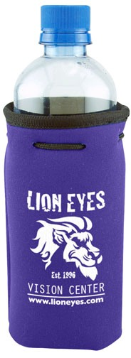 Purple Cheap Bottle Coozie