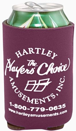 Burgundy Cheap Coozie