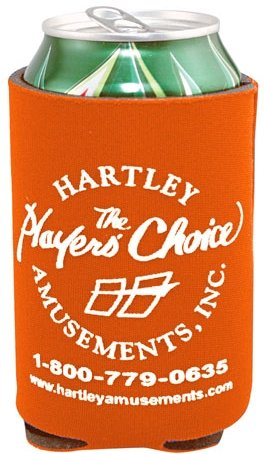 Burnt Orange Cheap Coozie
