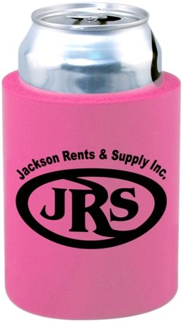 Bright Pink Cheap Can Coozie