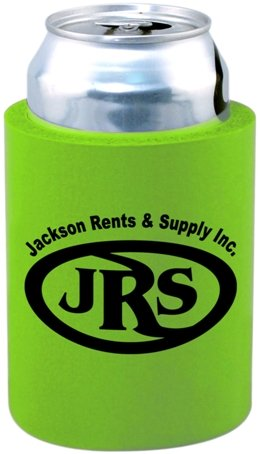 Lime Cheap Can Coozie