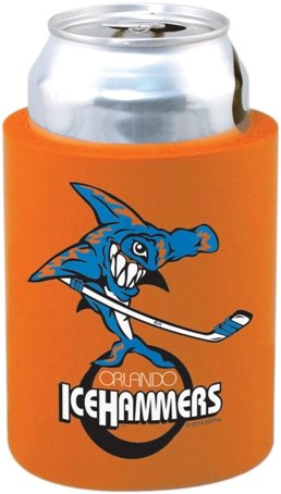 Orange Cheap Can Coozie