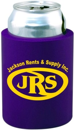 Purple Cheap Can Coozie
