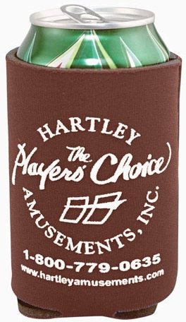 Dark Brown Cheap Coozie