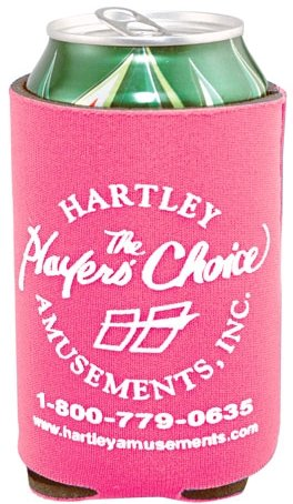 Neon Pink Cheap Coozie