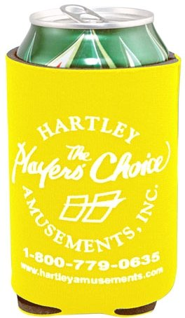 Yellow Cheap Coozie