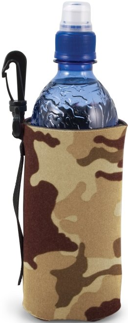 Tan Camo Customized Coozie