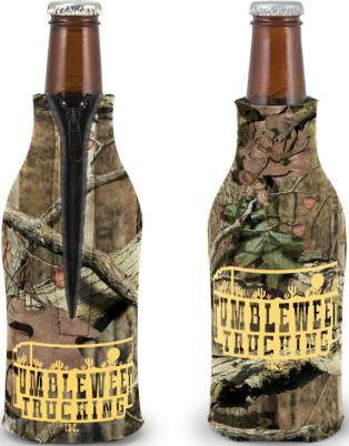 Custom Camo Beer Bottle Coozies