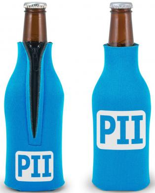 Custom Zippered Bottle Coozies