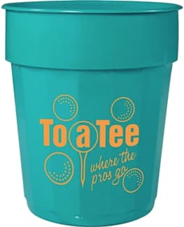 Teal Custom Cup Color