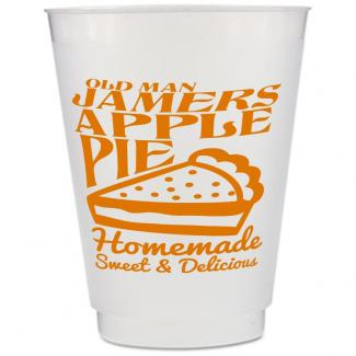 Custom Frosted Plastic Cup - 16 oz