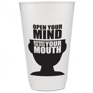 Custom Frosted Plastic Cup - 24 oz