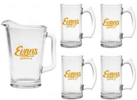 Pitcher and Beer Mug Gift Set