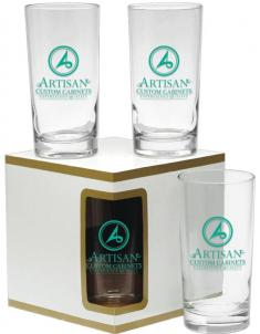 Premium Beverage Glass Gift Set