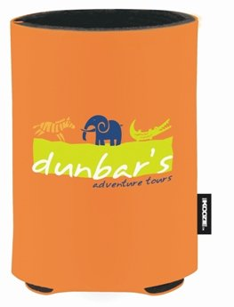 Bright Orange Promotional Koozie