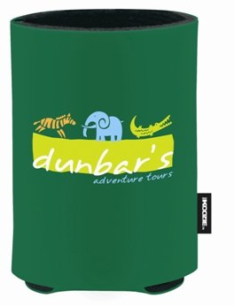 Green Promotional Koozie
