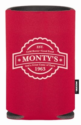 Red Promotional Koozie