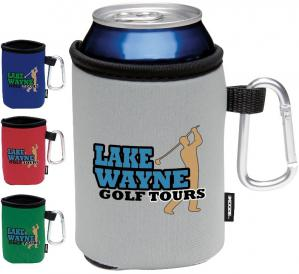 Carabineer Collapsible Promotional Koozies