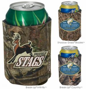Full Color Mossy Oak Camo Printed Koozies