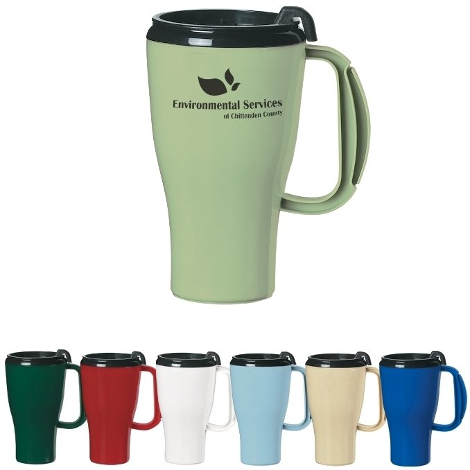 Plastic Mug-16 oz. Evolve Travel
