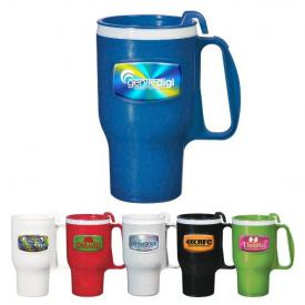 16 oz Extreme Imprint Plastic Travel Mug