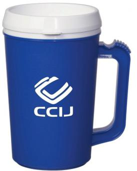22 oz Thermal Plastic Mug