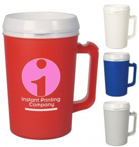 34 oz Thermal Large Plastic Mug
