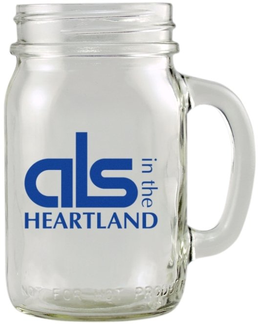 Glassware-Mason Jar Glass Mug
